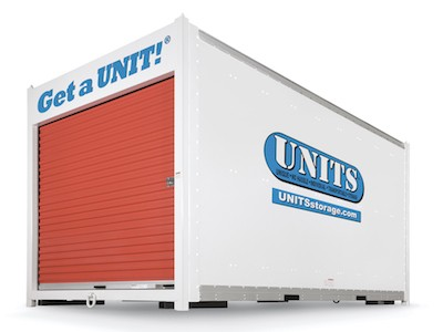 Secure UNITS Container
