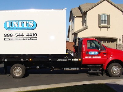 UNITS Delivery Truck