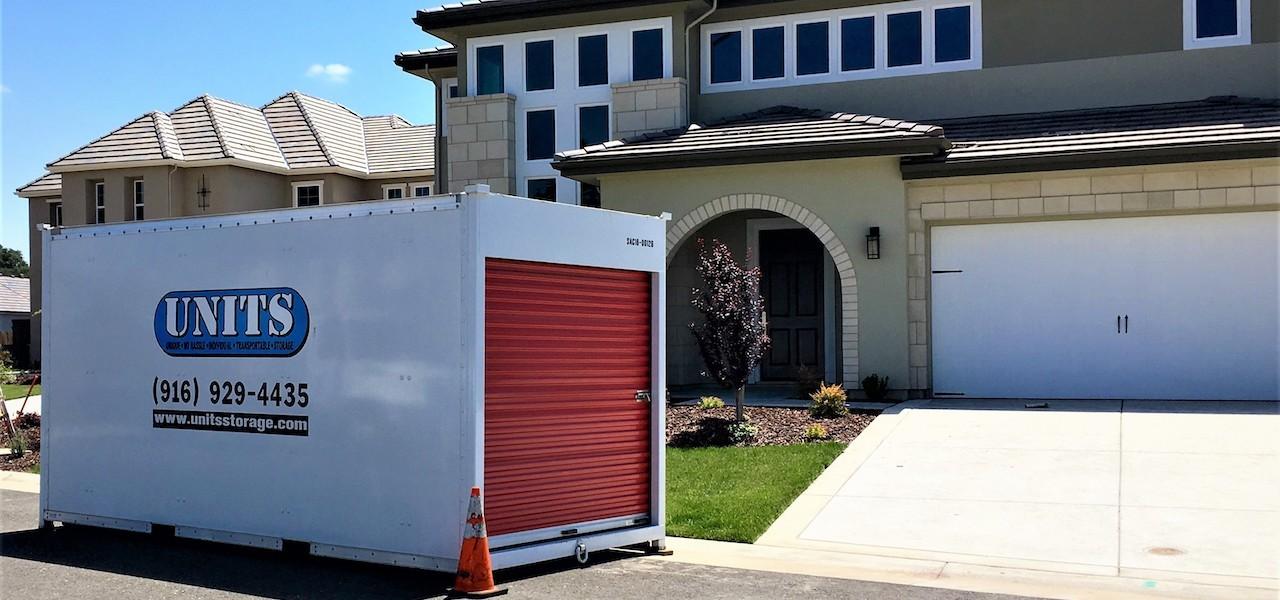 UNITS Sacramento Portable Storage Delivery