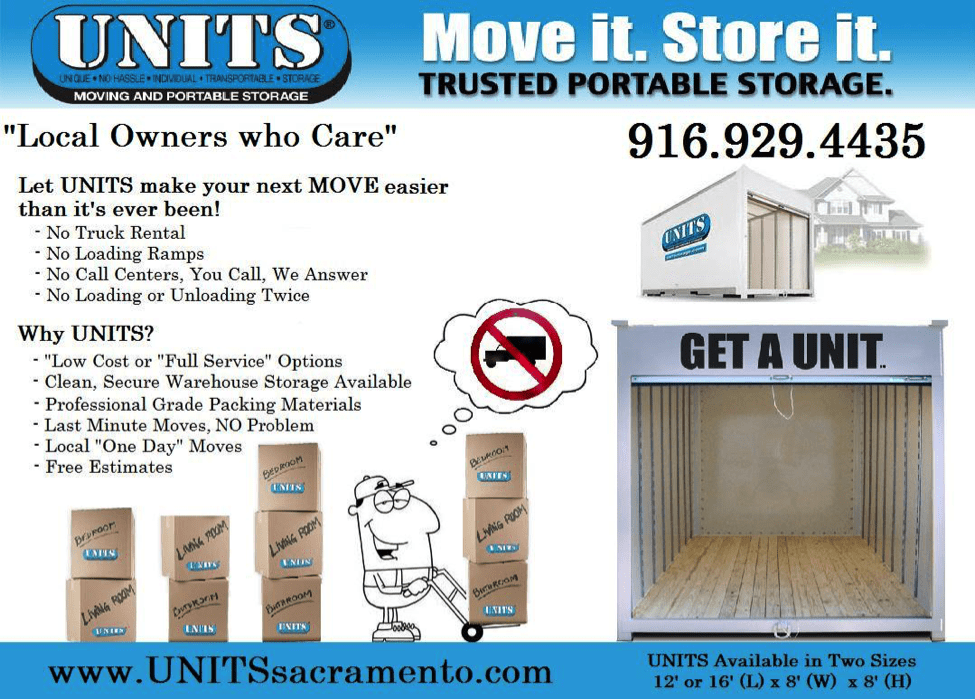 UNITS Portable Storage Flyer