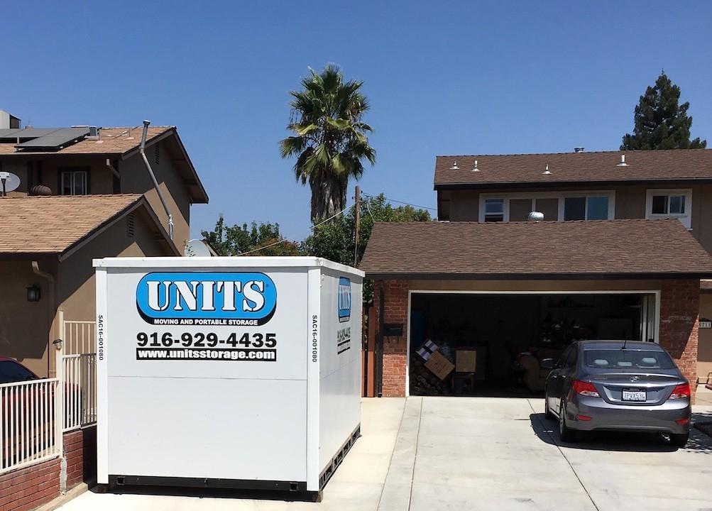 UNITS Delivered to Roseville Home