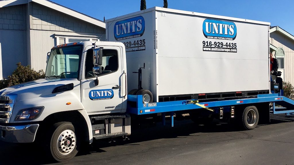 UNITS Truck Delivering to Rocklin